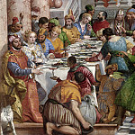 Paolo Veronese -- Marriage Feast at Cana, Part 3 Louvre