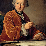 Louis Michel van Loo -- Germain Soufflot, architect, Part 3 Louvre
