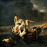 Part 3 Louvre - Nicolaes Maes -- The Bath