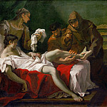 Part 3 Louvre - Sebastiano Ricci (1659-1734) -- Saint Anthony of Padua Healing a Young Man