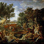 Nicolas Poussin -- Apollo and Daphne, Part 3 Louvre