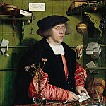 Hans Holbein II – The Merchant Georg Gisze , Part 2