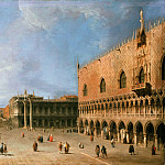Canaletto – The molo in front of the Doge, Part 2