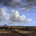 Jacob van Ruisdael – Haarlem seen from the dunes in the northwest, Part 2