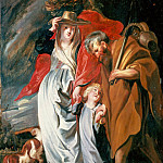 Return of the Holy Family from Egypt, Jacob Jordaens