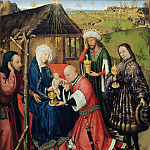 Part 2 - Jacques Daret (c.1403-1470) - The Adoration of the Magi
