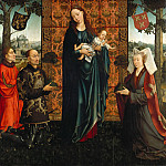 Goswijn van der Weyden – Maria with the child and founders, Part 2