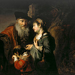 The expulsion of Hagar, Govert Teunisz Flinck
