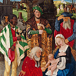 Hans Baldung – Three Kings Altarpiece – Adoration of the Kings, Part 2