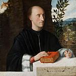 Part 2 - Giovanni Cariani (1485-90-1547) - Portrait of an astronomer