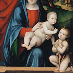 Francesco Francia – Mary with the Child and the Infant John the Baptist, Part 2