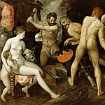 Frans Floris – The Forge of Vulcan, Part 2