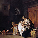 Part 2 - Jacob van Loo (c.1614-1670) - Mother with two children
