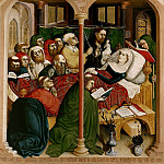 Part 2 - Hans Multscher (c.1400-1467) - Wurzach Altarpiece - Death of Mary