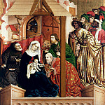 Hans Multscher – Wurzach Altarpiece – Adoration of the Magi, Part 2