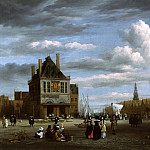 Jacob van Ruisdael – The Cathedral Square in Amsterdam, Part 2