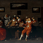 Part 2 - Hendrick Pot (c.1585-1657) - Merry Company in a brothel