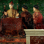 Giovanni Bellini – The Doge Leonardo Loredan with four Nobili, Part 2