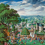 Hans Bol – Park landscape with castle, Part 2