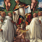 Part 2 - Girolamo Marchesi (c.1481-c.1550) - Blessed Bernardo Tolomei receives the rule of the order of St. Olivetans. Benedict