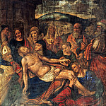 Part 2 - Giampietrino (active 1495-1549) - The Lamentation of Christ with a Donor in the bishops vestments