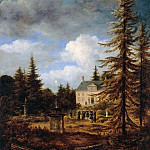 The country house, Jacob Van Ruisdael