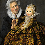 Frans Hals – Catharina Hooft with her ​​nurse, Part 2