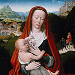 Gerard David – Maria with the child, Part 2