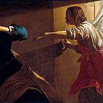 Gerrit van Honthorst – The freeing of Peter from prison, Part 2