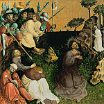 Part 2 - Hans Multscher (c.1400-1467) - Wurzach Altarpiece - Christ on the Mount of Olives