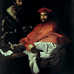 Part 2 - Girolamo da Carpi (1501-1556) - Portrait of Cardinal Giovanni Salviati (1490-1553) with his secretary