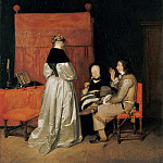Part 2 - Gerard ter Borch II (1617-1681) - The paternal admonition