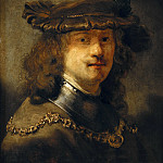 Govaert Flinck – Rembrandt with an iron velvet beret and neck rail, Part 2