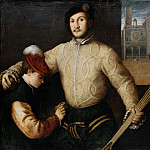 Francesco Beccaruzzi – Portrait of a ball player with his page, Part 2