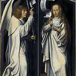 Master of Frankfurt – Triptych – Virgin and Child with Saint Anne, Part 2