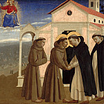 Fra Angelico – The meeting of St. Dominic and St. Francis, Part 2