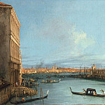 Canaletto – Santa Maria della Salute in Venice on the Grand Canal, Part 2