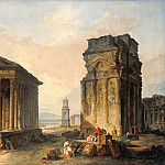 Hubert Robert – The Ruins of Nimes, Part 2