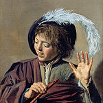 Part 2 - Frans Hals (1582-83-1666) - Singing Boy with Flute