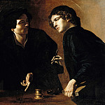 Part 2 - Giovanni Battista Caracciolo (1578-1635) - Double portrait of two doctors as saints Cosmas and Damian