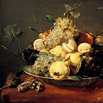 Frans Snyders – Still life with fruit bowl, Part 2