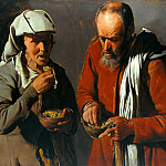 Georges de La Tour – Pea eaters, Part 2