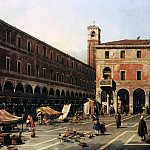Canaletto – The Campo di Rialto, Part 2