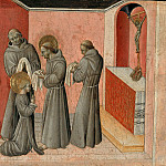 Giovanni di Paolo – The clothing of St. Clare by St. Francis, Part 2