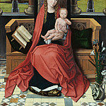 Hans Memling – Enthroned Madonna with Child, Part 2