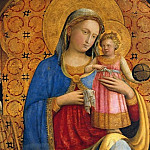 Part 2 - Fra Angelico (ок1400-1455) - Mary with the Child, with Saint Dominic and Peter Martyr