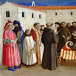 Fra Angelico – The funeral Mass for St. Francis, Part 2