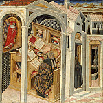 Part 2 - Giovanni di Paolo (1398-1482) - St. Jerome Appearing to St. Augustine