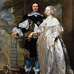 Part 2 - Gonzales Coques (1614-18-1684) - Portrait of a married couple in the park