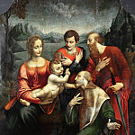 Part 2 - Fernando de Llanos - Mary with the Child and Saints Ambrose, Paul and George